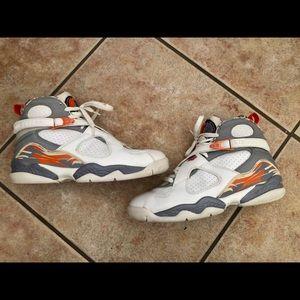 Nike Air Jordan 8 retro / orange blaze